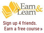 Earn & Learn Logo - Earn a Free Course